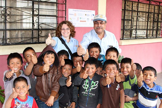 Rotary, Guatemala, service projects, literacy, south America, books, education, sustainable