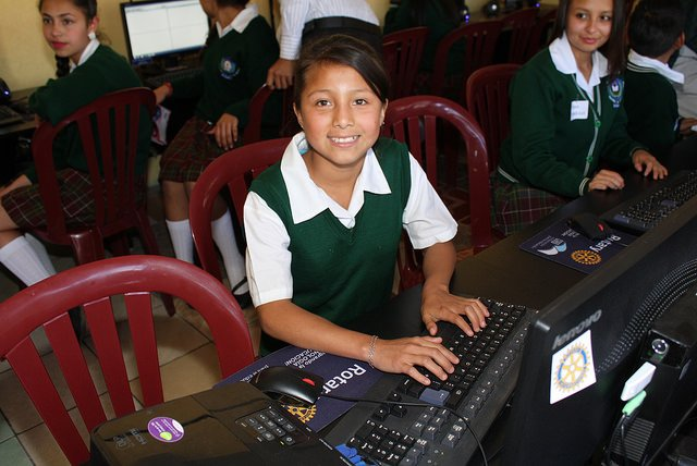 technology, computers, sustainable, community involvement, Rotary, Guatemala, service projects, literacy, south America, books, education