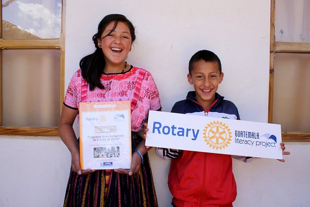 Rotary, Guatemala, service projects, literacy, south America, books, education, • Nonprofit, implementation partner, accountable, compliant, trustworthy