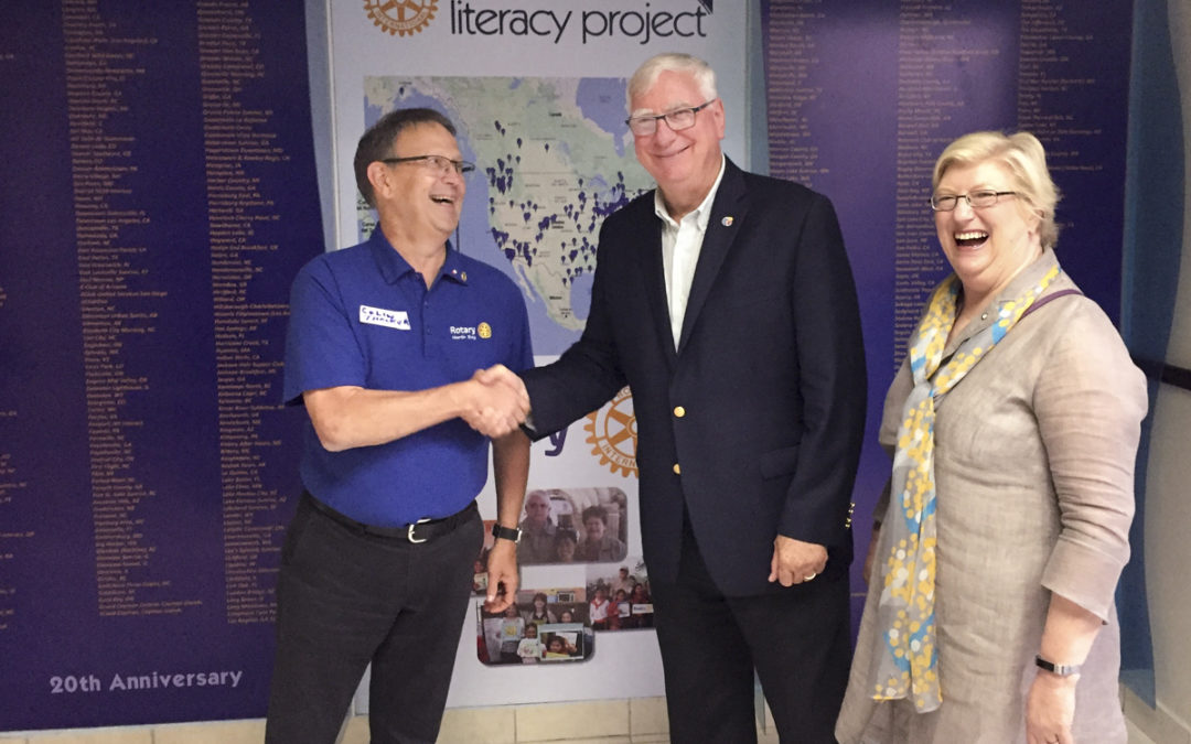 "Rotary International President Riseley Calls GLP ""the Gold Standard"""